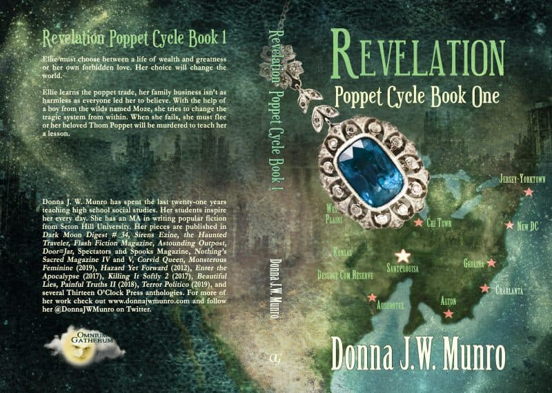 Cover for Revelation:Poppet Cycle Book 1
