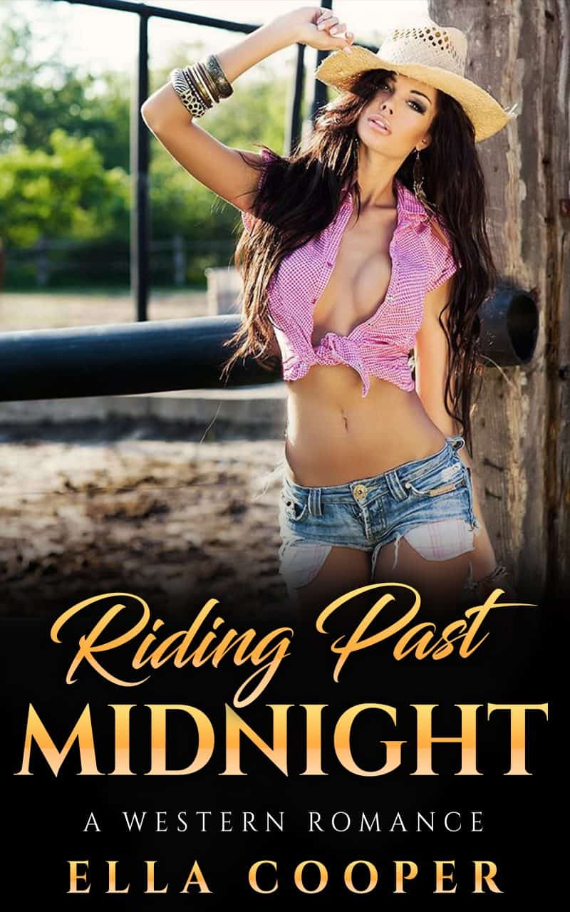 Cover for Riding Past Midnight: A Western Romance
