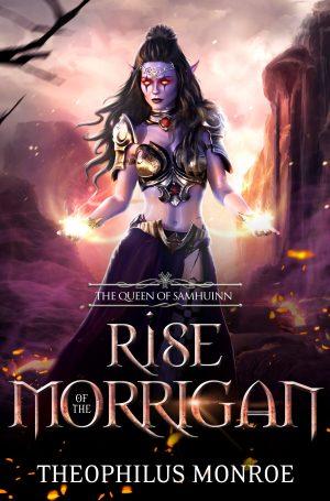 Cover for Rise of the Morrigan: The Queen of Samhuinn