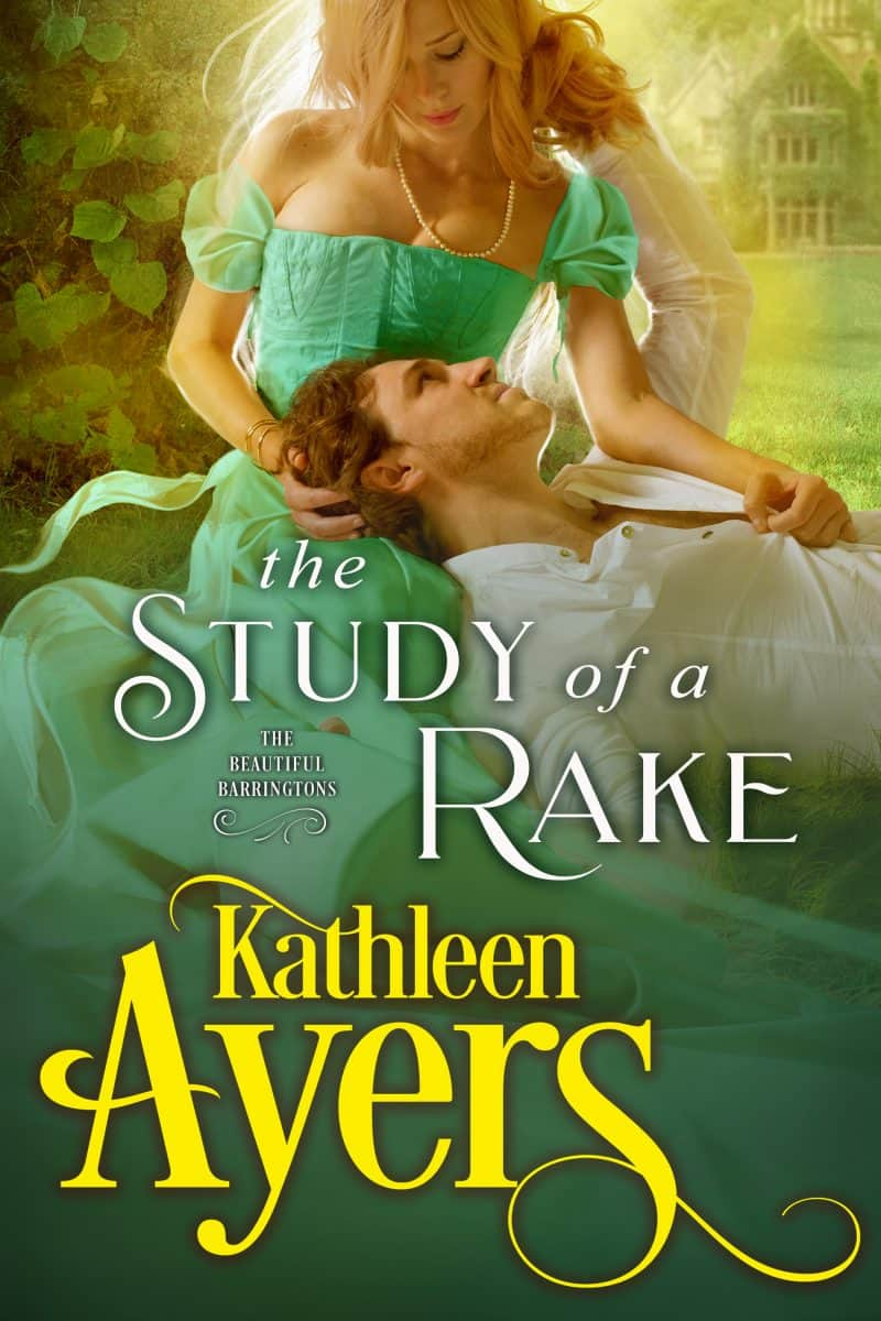 Cover for The Study of a Rake: A Steamy Historical Regency Novella