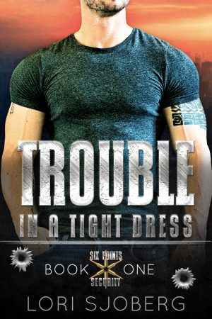 Cover for Trouble in a Tight Dress