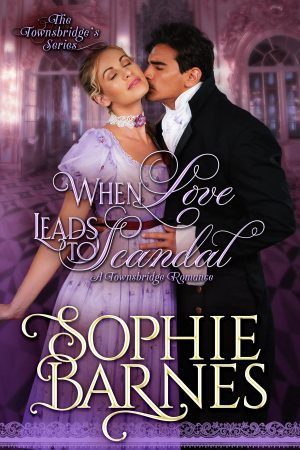 Cover for When Love Leads to Scandal