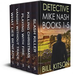 Cover for Detective Mike Nash Books 1–5