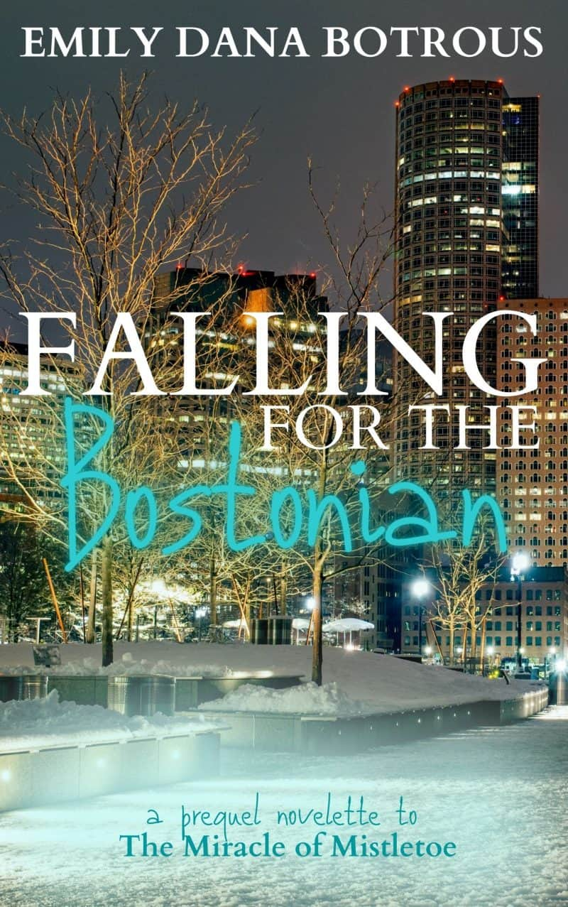 Cover for Falling for the Bostonian: A Meet-Cute Romance Novelette