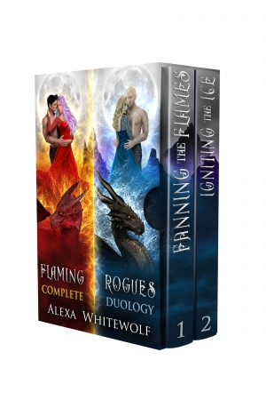 Cover for Flaming Rogues Complete Duology