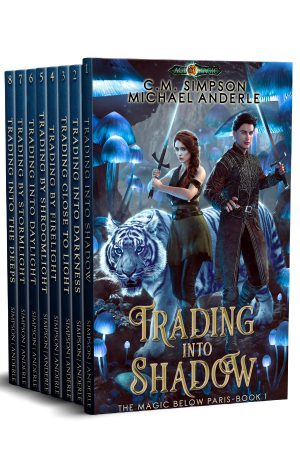 Cover for Magic Below Paris Complete Series Boxed Set (Books 1 - 8)