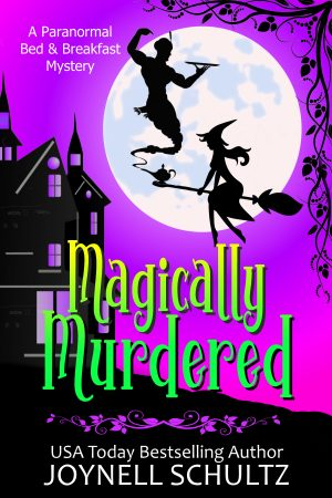 Cover for Magically Murdered