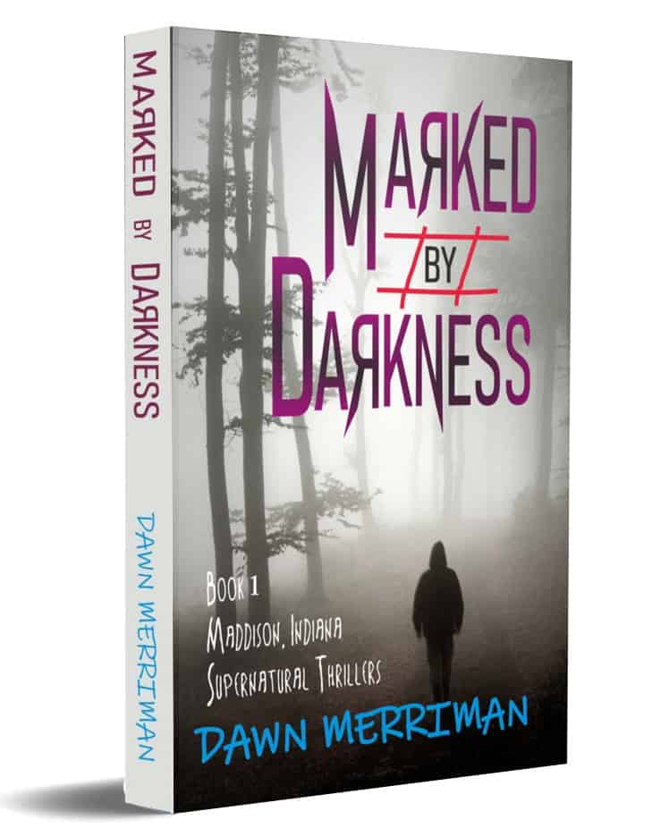 Cover for Marked by Darkness