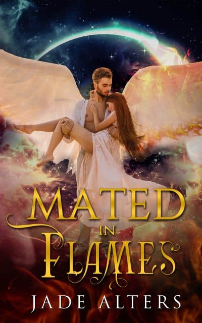 Cover for Mated in Flames