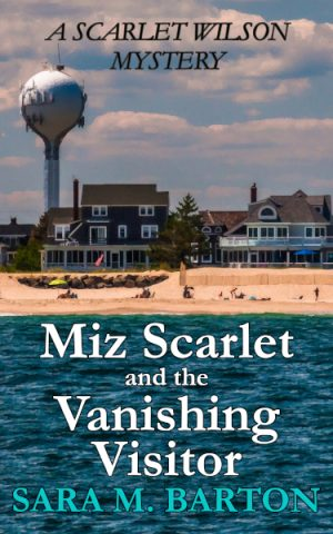Cover for Miz Scarlet and the Vanishing Visitor