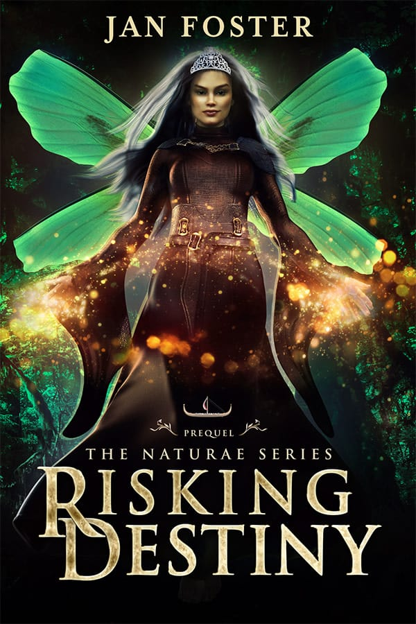 Cover for Risking Destiny: Keeping your crown when chaos invades—failing isn't an option