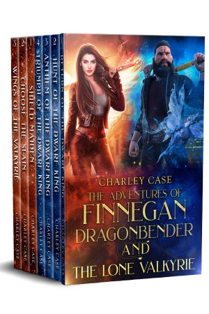 Cover for The Adventures of Finnegan Dragonbender and The Lone Valkyrie 7 Book Boxed Set