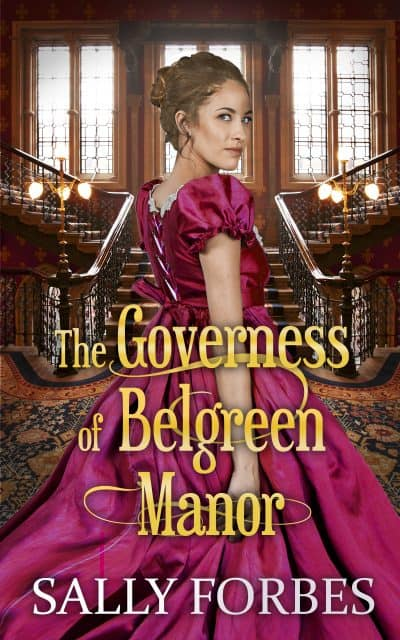 Cover for The Governess of Belgreen Manor