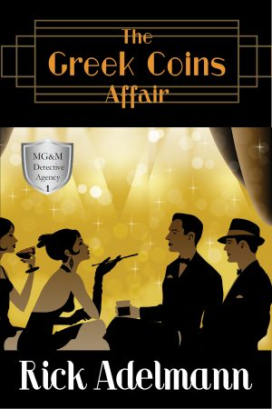 Cover for The Greek Coins Affair