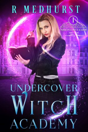 Cover for Undercover Witch Academy: First Year