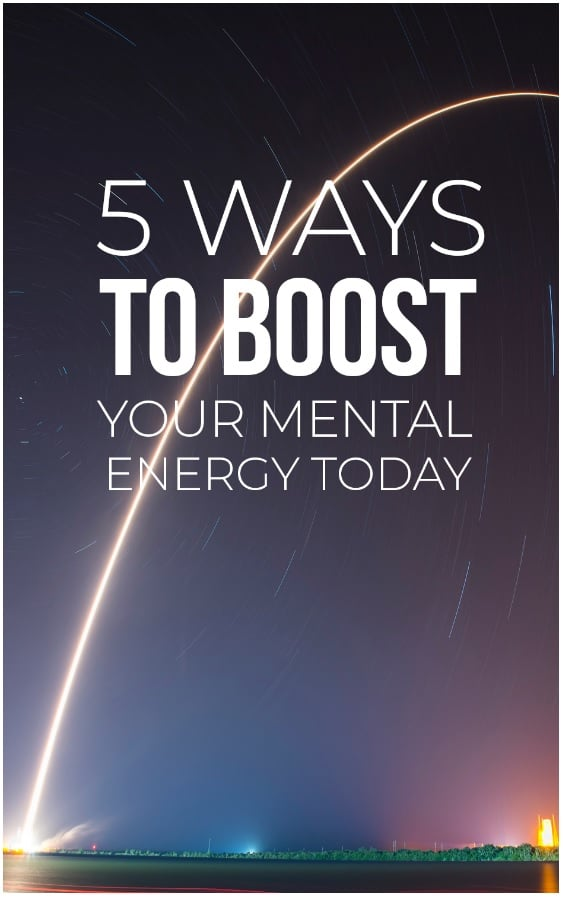 Cover for 5 Ways To Boost Your Mental Energy Today