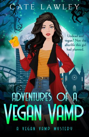 Cover for Adventures of a Vegan Vamp