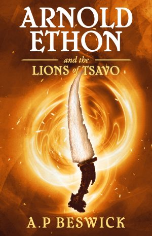 Cover for Arnold Ethon and the Lions of Tsavo