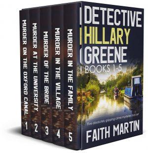 Cover for Detective Hillary Greene Books 1–5
