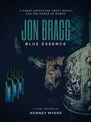 Cover for Jon Bragg Blue Essence