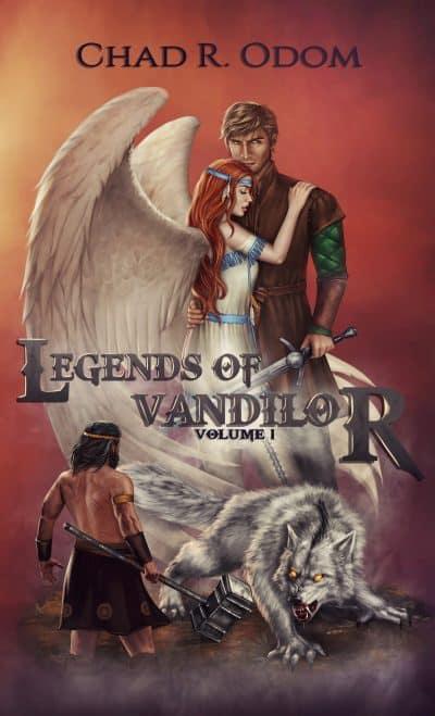 Cover for Legends of Vandilor Volume I