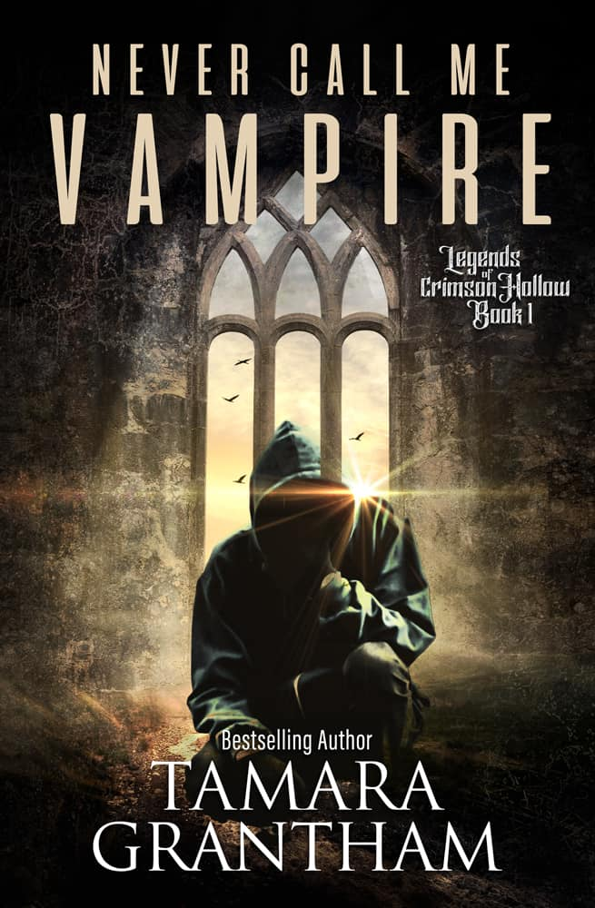 Cover for Never Call Me Vampire