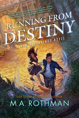 Cover for Running from Destiny