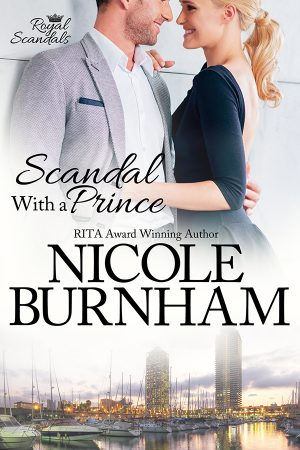Cover for Scandal with a Prince