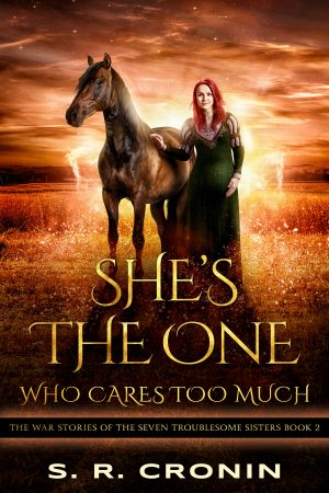 Cover for She's the One Who Cares Too Much