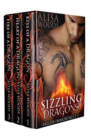 Cover for Sizzling Dragons Box Set