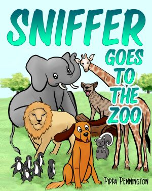 Cover for Sniffer Goes to the Zoo