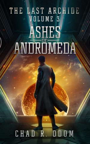 Cover for Ashes of Andromeda