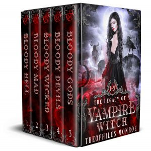 Cover for The Legacy of a Vampire Witch