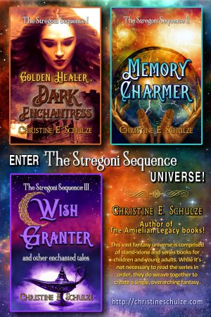 Cover for The Stregoni Sequence: A Christian Fantasy Trilogy Complete Boxed Set
