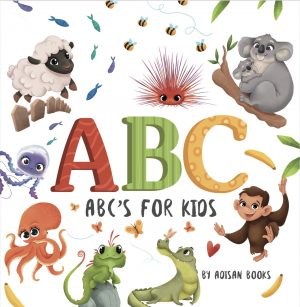Cover for ABC's for Kids: Animal Fun Letters for Babies and Toddlers