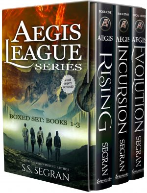 Cover for Aegis League Series - Boxed Set (Books 1-3)