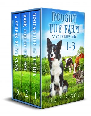Cover for Bought the Farm Mysteries Books 1-3