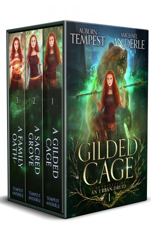 Cover for Chronicles of an Urban Druid Boxed Set #1 (Books 1-3)