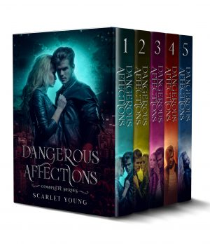 Cover for Dangerous Affections: The Complete Series Books 1-5