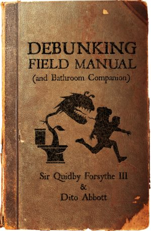 Cover for Debunking Field Manual (and Bathroom Companion)