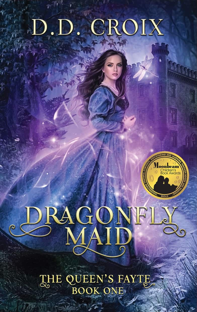 Cover for Dragonfly Maid (The Queen's Fayte Book 1)