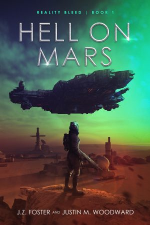 Cover for Hell on Mars