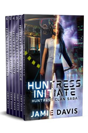 Cover for Huntress Clan Saga Complete Series Boxed Set: Books 1-6