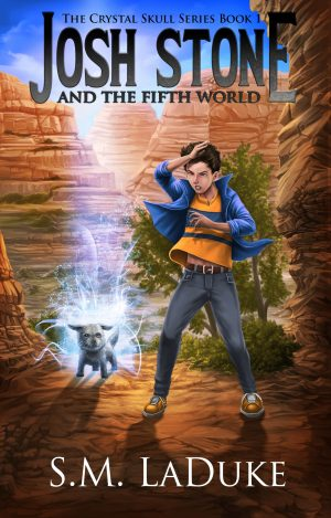 Cover for Josh Stone and the Fifth World