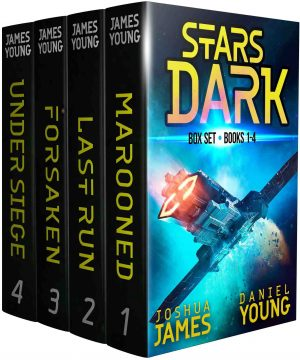 Cover for Stars Dark Box Set: Books 1-4