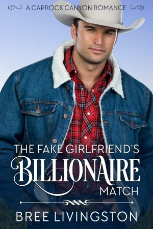 Cover for The Fake Girlfriend's Billionaire Match