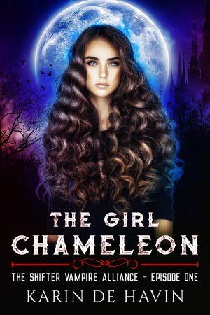 Cover for The Girl Chameleon Episode One