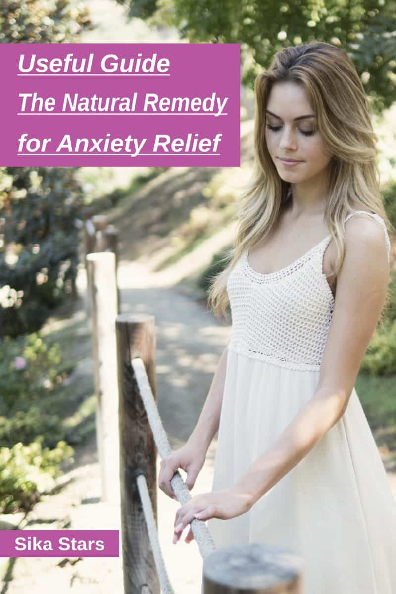 Cover for Useful Guide: The Natural Remedy for Anxiety Relief