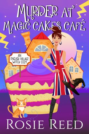 Cover for Murder at Magic Cakes Cafe