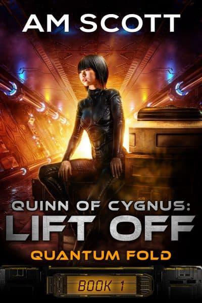 Cover for Quinn of Cygnus: Lift Off